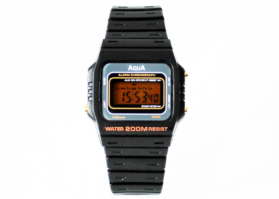 Relógio Digital Waterproof Aqua AQ 37